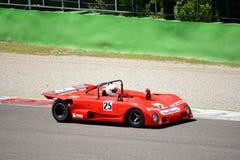 1972 Lola T290 στο κύκλωμα Monza Στοκ Εικόνες