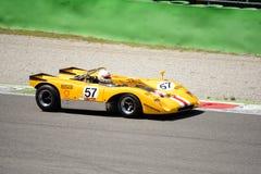 1971 Lola T210 bij Monza-Kring Royalty-vrije Stock Foto's