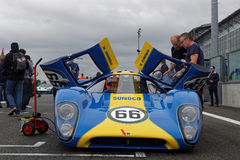 Lola T70 on the grid. Stock Image