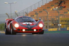 Lola T70 at the morning lights Royalty Free Stock Image