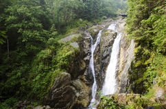 Lolaia waterfall Royalty Free Stock Image