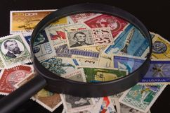 Lold postage stamps Stock Image