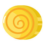 Lolipop candy symbol vector. Royalty Free Stock Photo
