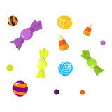 Lolipop candy symbol vector. Stock Image