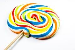 Lolipop colorido Fotografía de archivo libre de regalías