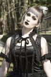 Lolita gótico Imagenes de archivo