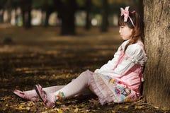 Lolita japonés triste Fotos de archivo libres de regalías