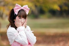Lolita portrait Stock Images