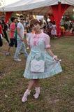 Lolitas festival Animes Stock Image