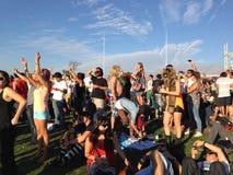 Lollapalooza koncert w Chile Obrazy Stock