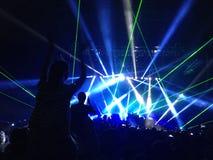 Lollapalooza w Chile Fotografia Royalty Free