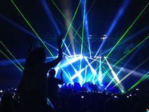 Lollapalooza w Chile Zdjęcia Royalty Free