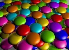 Lolli pop. 3d render Royalty Free Stock Photo
