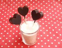 lollies сделанные из шоколада Стоковое Изображение RF