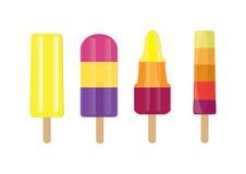 Lollies de gelo Imagem de Stock