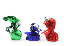 Lollies do chocolate imagens de stock royalty free