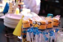 Lollies do partido Imagem de Stock