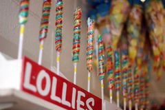 Lollies at the fair Stock Photography