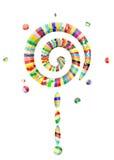 lollipop κόσμος διανυσματική απεικόνιση