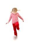 lollipop девушки скача стоковая фотография rf