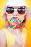 lollipop девушки Стоковая Фотография RF