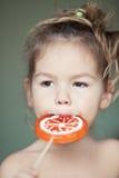 lollipop ребенка Стоковые Изображения RF