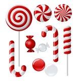 lollipop собрания вкусный Стоковое Изображение