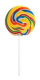 Lollipop. Colorful lollipop isolated on white background Royalty Free Stock Photo
