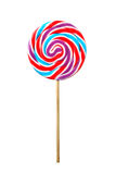 Lollipop. Swirl-like colorful lollipop chupa chups stock photography