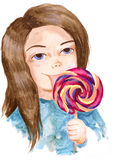 Lollipop Royalty Free Stock Image