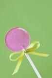 Lollipop. Homemade lavender lollipop, selective focus stock image