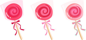 Lollipop Fotografie Stock