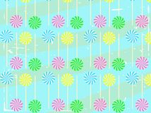 Lollipop Abstract Vector Background Royalty Free Stock Photos