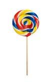 Lollipop aislado en blanco Fotografía de archivo libre de regalías