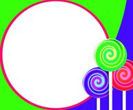 Lollipop Background Stock Photos