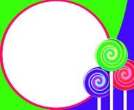 Lollipop Background Stock Photos