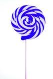 Lollipop bello su bianco Fotografia Stock