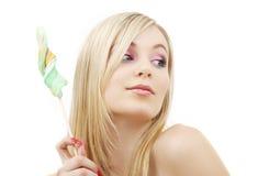 Lollipop Blonde Stock Photos