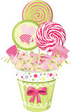 Lollipop bouquet Stock Photography