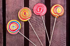 Lollipop candies Royalty Free Stock Photo