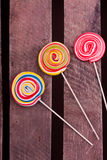 Lollipop candies Royalty Free Stock Photos