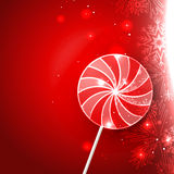 Lollipop candy design Royalty Free Stock Image