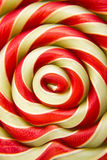 Lollipop candy. Macro of colorful lollipop candy backdrop Royalty Free Stock Images