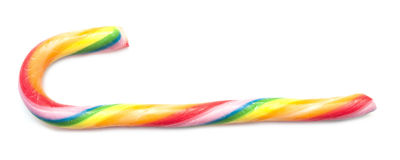 Lollipop cane Royalty Free Stock Image