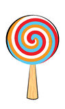 Lollipop cartoon Stock Photo