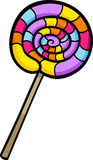 Lollipop clip art cartoon illustration Stock Photos
