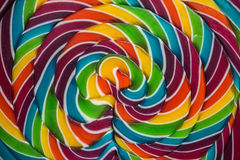 Lollipop. Close up on a colourful lollipop royalty free stock image