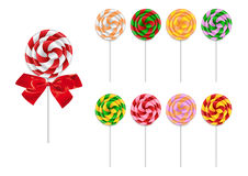 Lollipop collection Stock Images