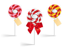 Lollipop collection Stock Photos