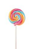 Lollipop colorido Imagen de archivo libre de regalías
